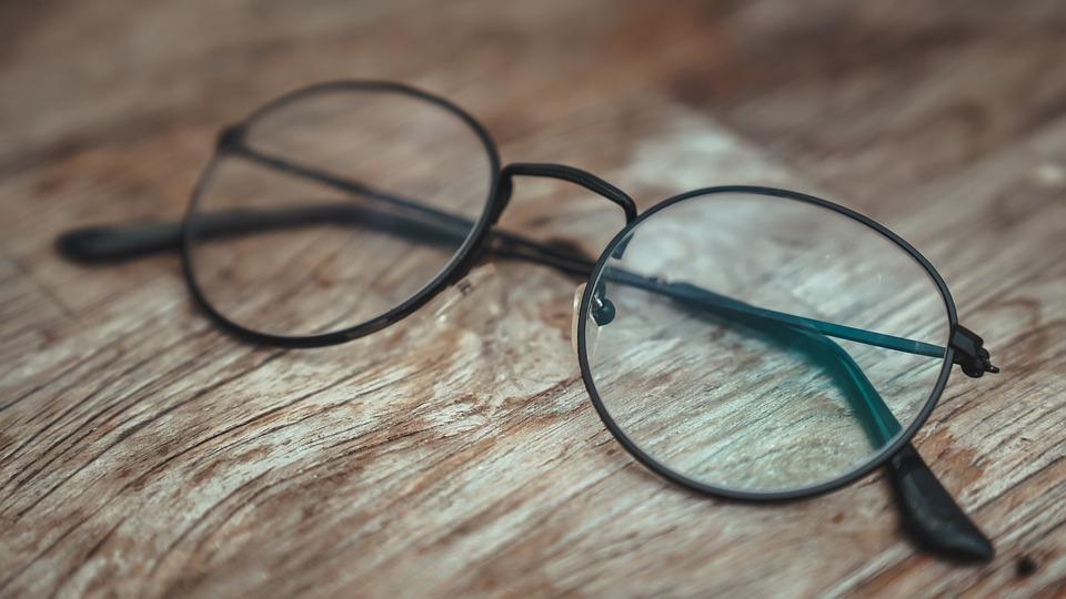 Glasses, Style, Fashion, Vintage, Retro, Portrait
