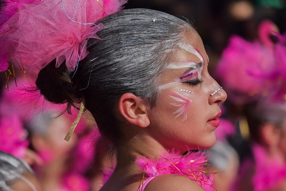 Carnival, Portrait, People, Beautiful, Woman, Girl