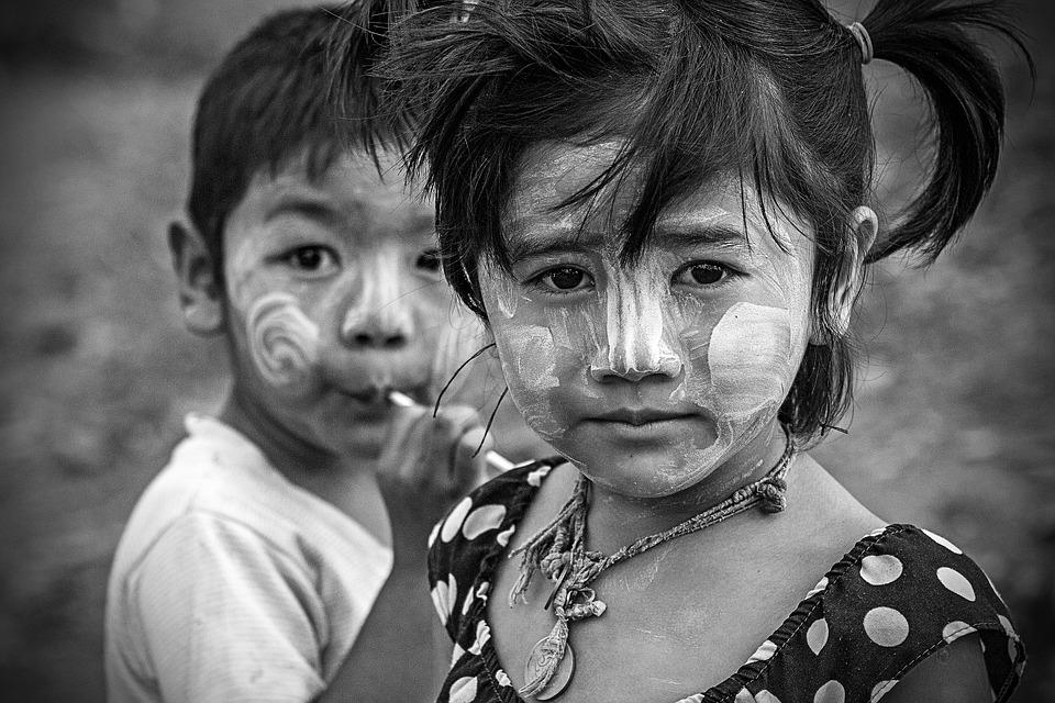 Children, Child, Boy, Girl, Portraits, Kids, Thai