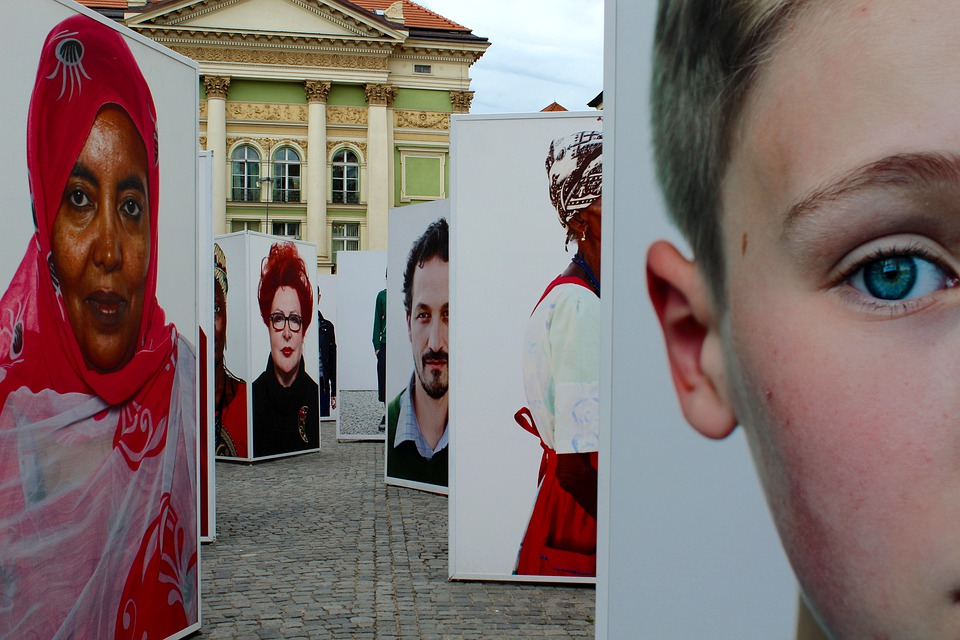 Prague, Exhibition, Faces, Portraits, Czech Republic