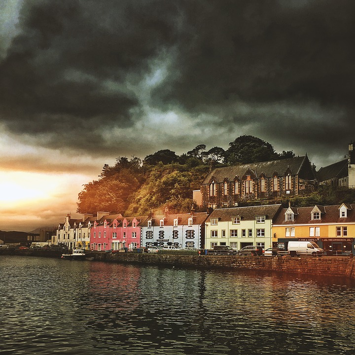 Portree, Scotland, Highlands And Islands