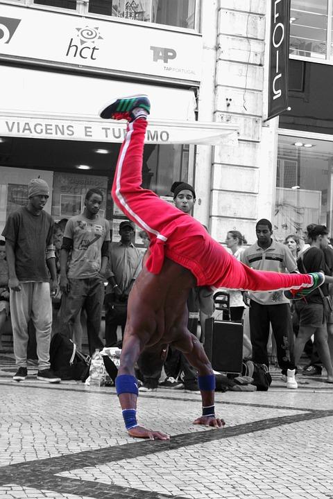 Lisbon, Portugal, Break Dance