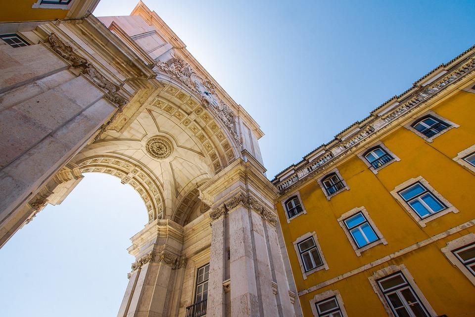 Lisbon, Comercio, Space, Lisboa, Portugal, Portuguese