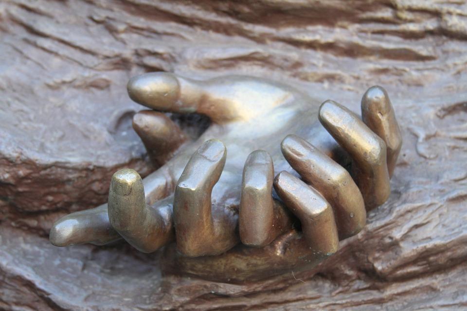 Hands, Art, Braga, Portugal, Sculpture