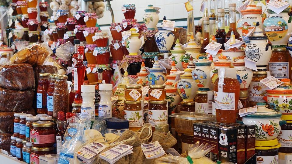 Market, Portugal, Market Stall