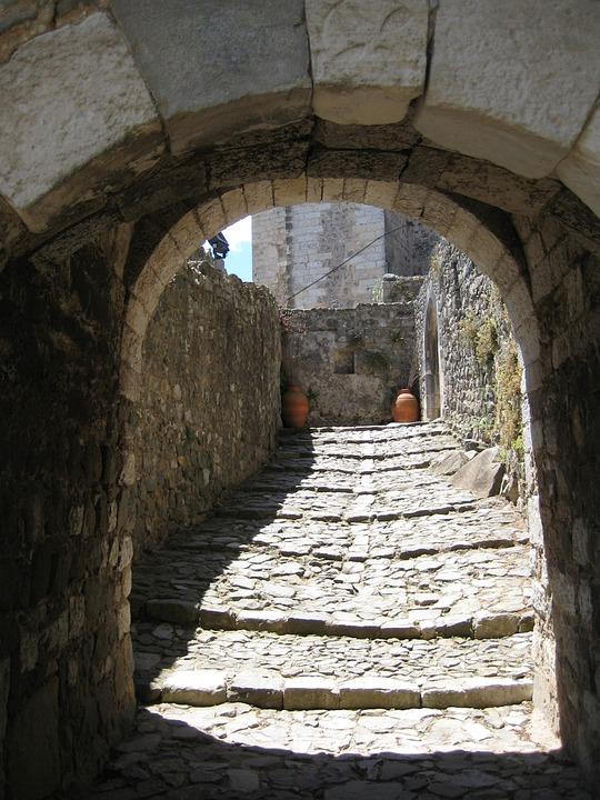 Mavra, Portugal, Portal, Stone Steps, Historically