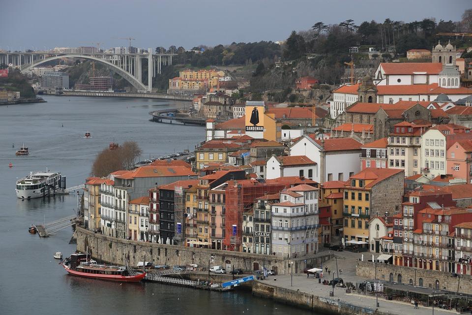 Portugal, Porto, River, Douro, City, Riverside