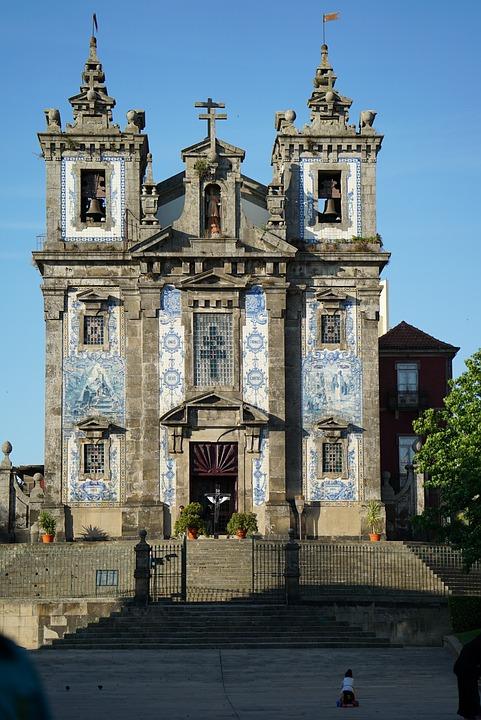 Porto, Portugal, Saint Ildefonso, Facade