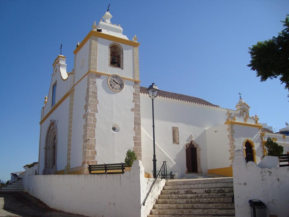 Portugel, Algarve, Church