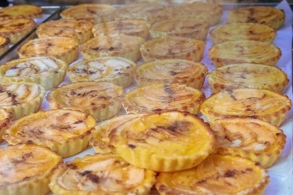 Nata, Pastel, Lisbon, Portugal, Portuguese, Dough