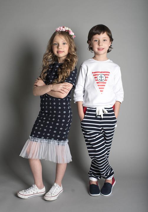 Model, Boy Model, Posing, Studio, Wall, Child, Boy