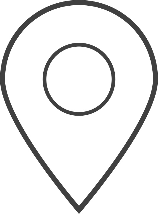 Location, Position, You Are Here, Icon