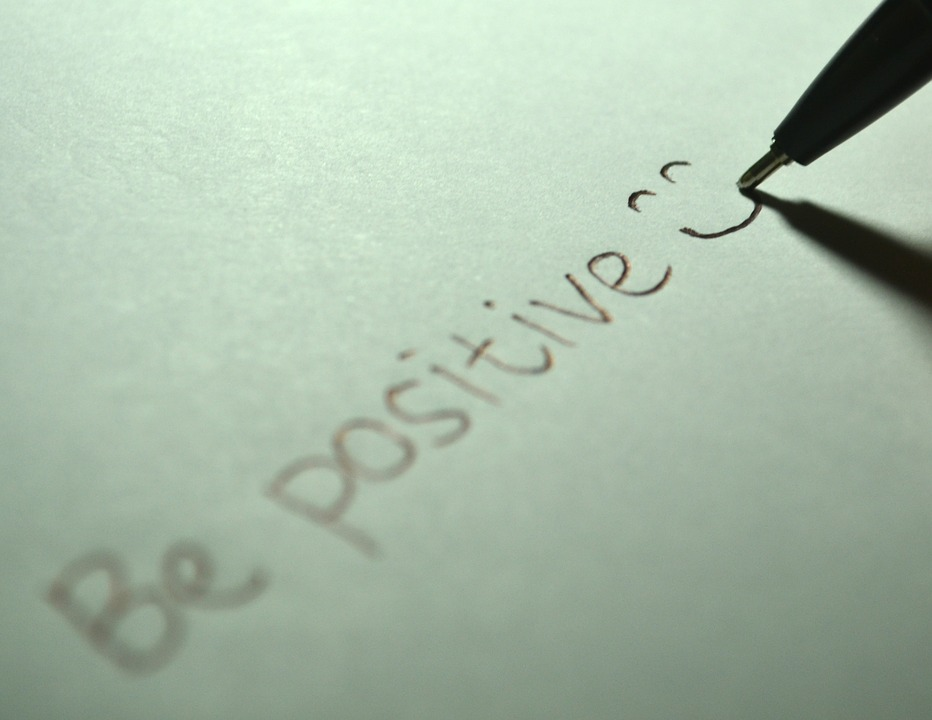 Positive, Be Positive, Smile, Smiling, Happy, Write