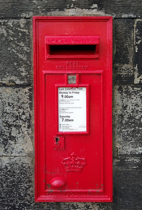 Post, Postbox, Post Box, Mailbox, Mail, Letters