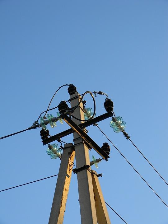 Electricity, Wire, Post, Engineering, Insulators