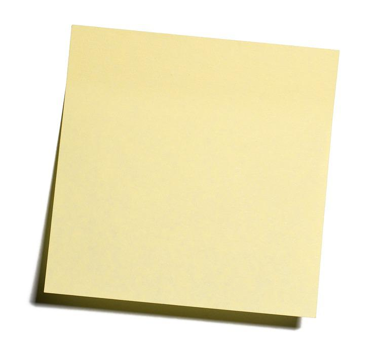 Post It, Postit, Sticky Notes, Adhesive Note, Note