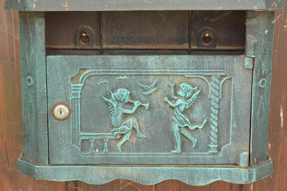 Letter Boxes, Old, Rarely, Funny, Post Mail Box, Post