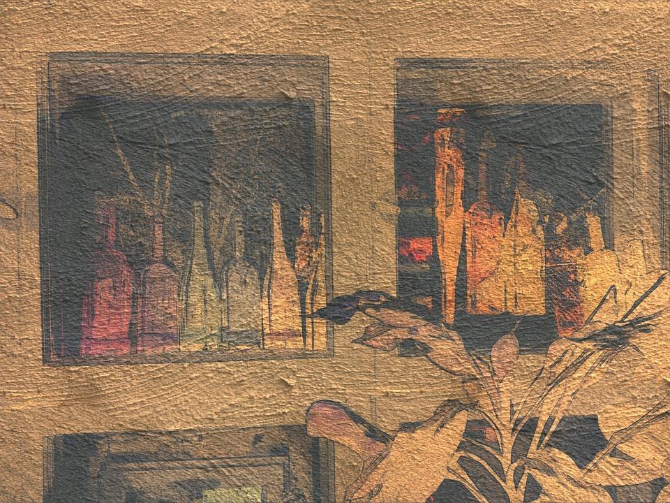 Ideas, Art, Postcard, Window-design, Slide, Handmade