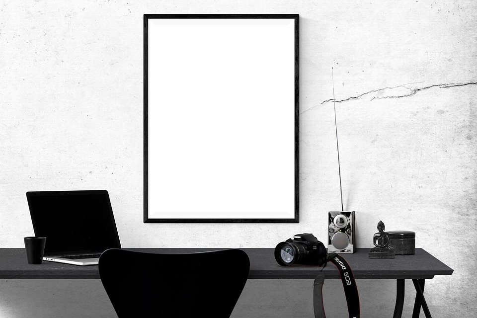 Free photo Poster Poster Mockup Frame Template Mockup - Max Pixel