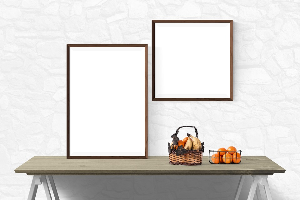 free photo poster presentation wall mockup template desk - max pixel, Presentation templates