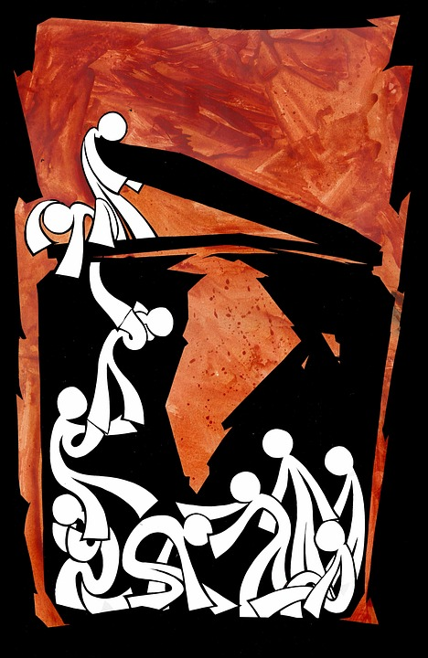 Poster, Red, Symbol
