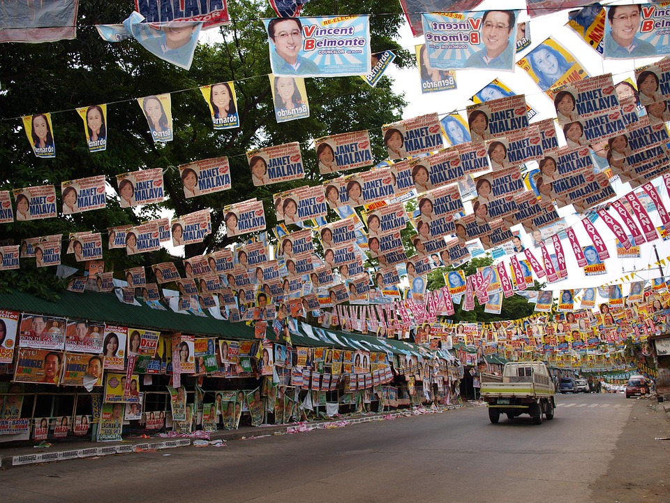 Election, Campaign, Poster, Street, Government