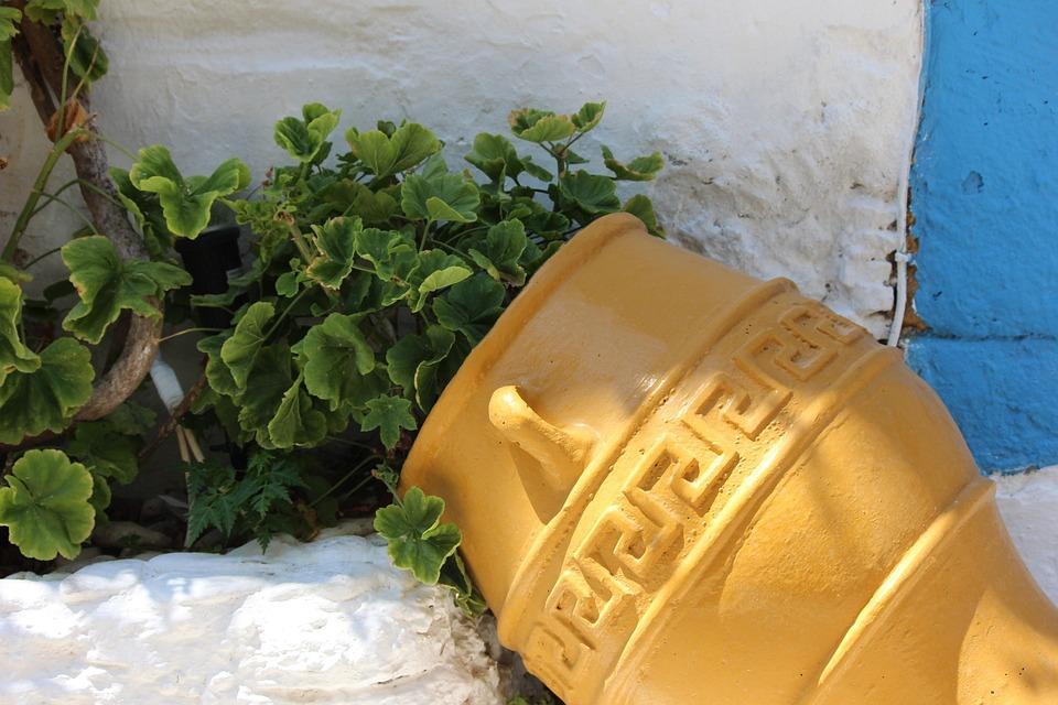 Pot, Flowerpot, Concerning, Ceramic Goods