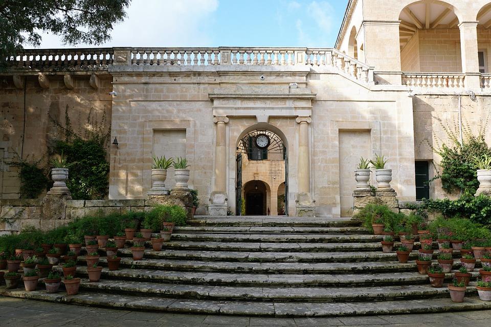 Pot, Flower, Stairs, Garden, Nature, Plant, Ceramic