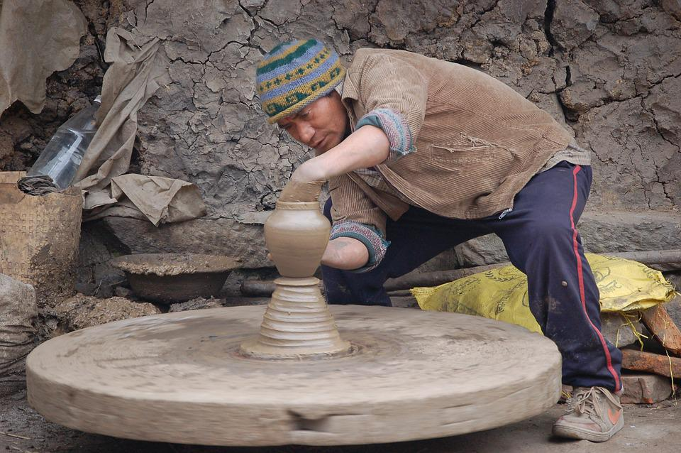 Potter, Potters, Potter's Wheel, Pot, Ceramic, Sound