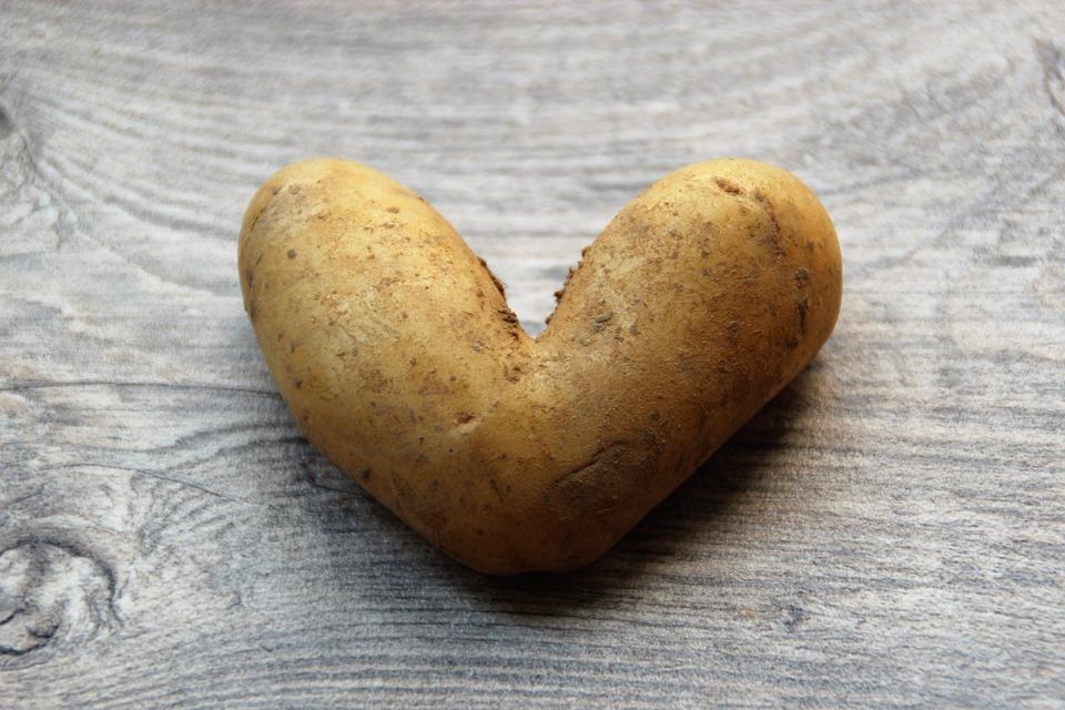 Potato, Heart, Love, Delicious, Nutrition, Eat, Bio
