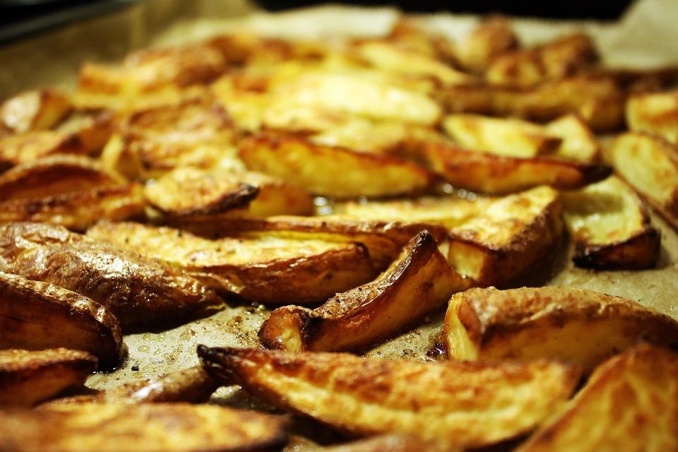 Potato Corners, Potato, Fry, Bake, Food, Cook, Dine