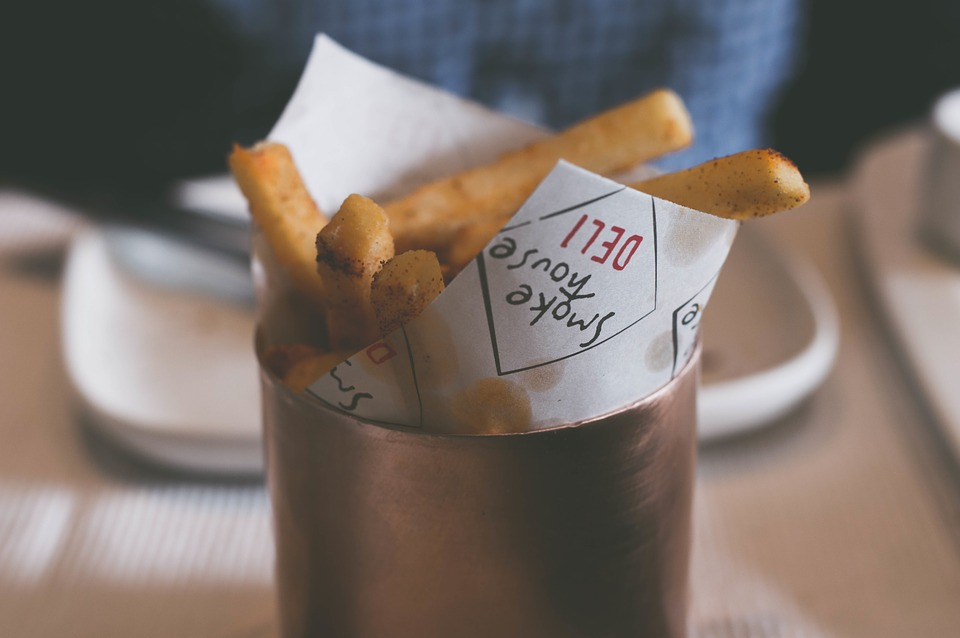 Potato, Fries, Food, Dining, Area, Restaurant