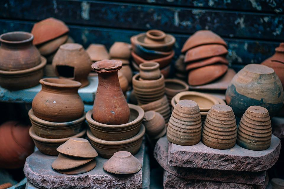Ancient, Pottery, Pots, Clay, Antique, Art, Artisan