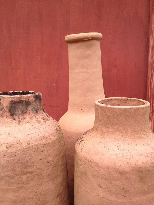 Crafts, Minas, Brazil, Clay, Pots