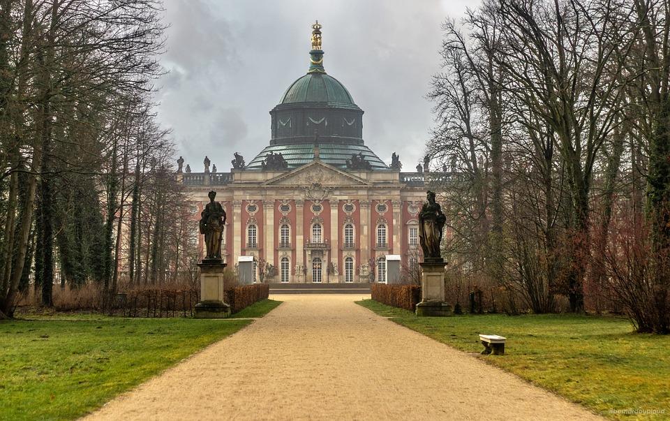 The New Palace, Potsdam, The New Palais