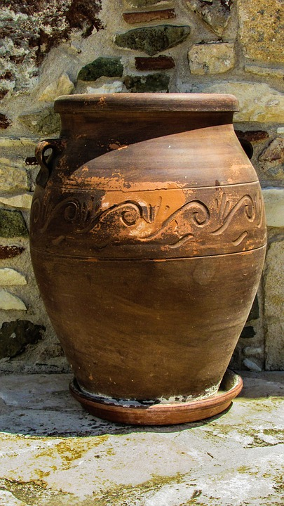 Pottery, Container, Traditional, Cyprus