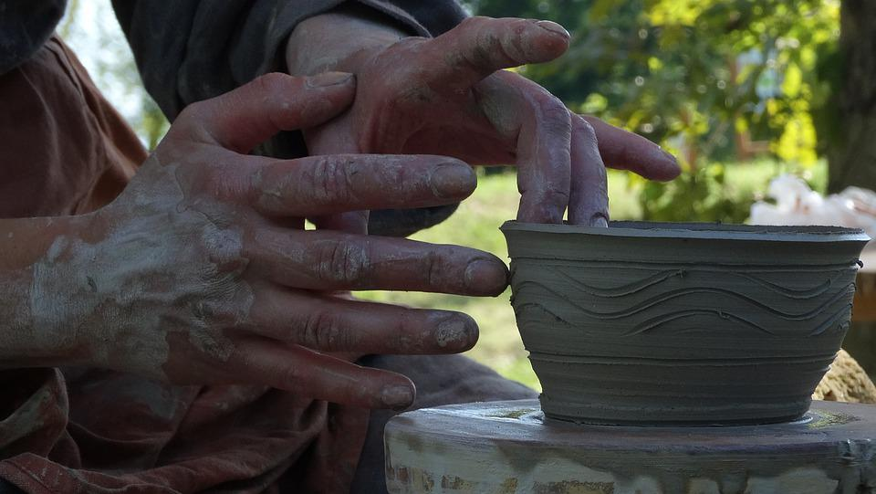 Pottery, Handicraft, Earthenware, Handiwork