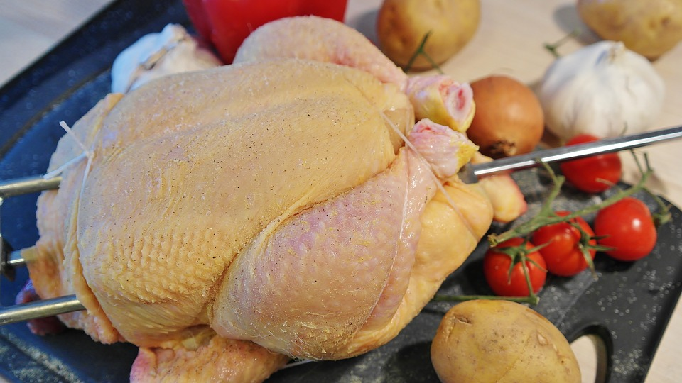 Chicken, Broiler, Grilled Chicken, Poultry, Raw, Bio