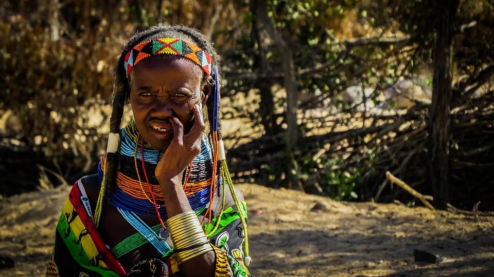 Mumuila, African, Black, Africa, Woman, Female, Poverty