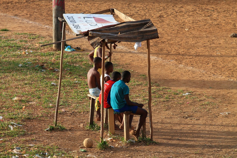 Football Match, Kids, Fans, Simplicities, Poverty