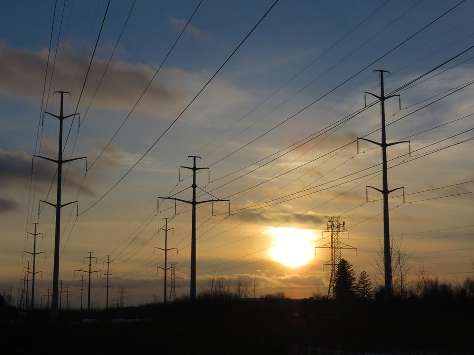 Electric, Wires, Power Lines, Power, Hydro, Corridor