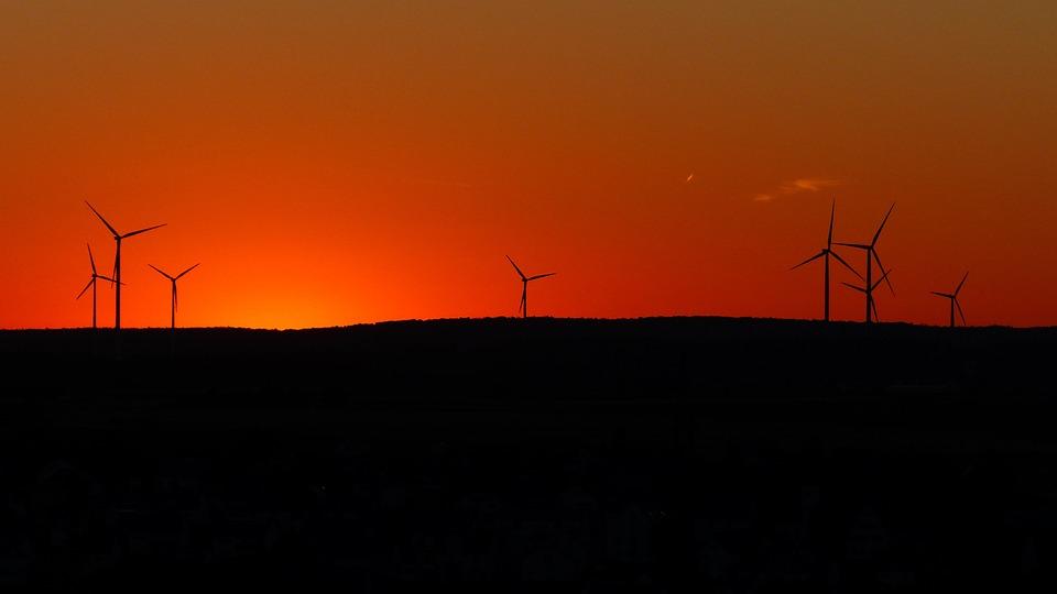Power Generation, Energy Production, Windräder