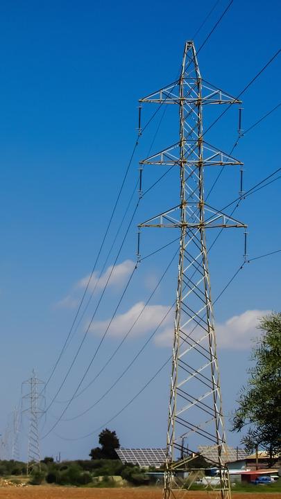 High Voltage, Pylon, Power, Electricity, Energy