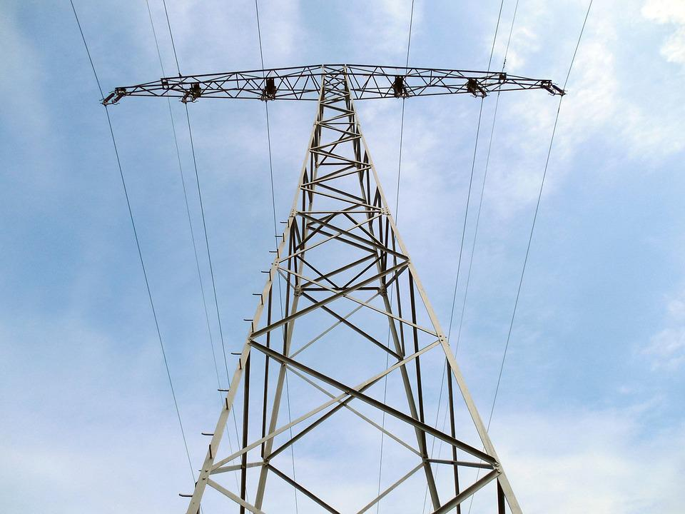 Strommast, Power Line, Electricity, Energy, Current