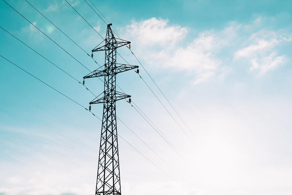 Power Lines, Cables, Tower, Overhead Power Lines