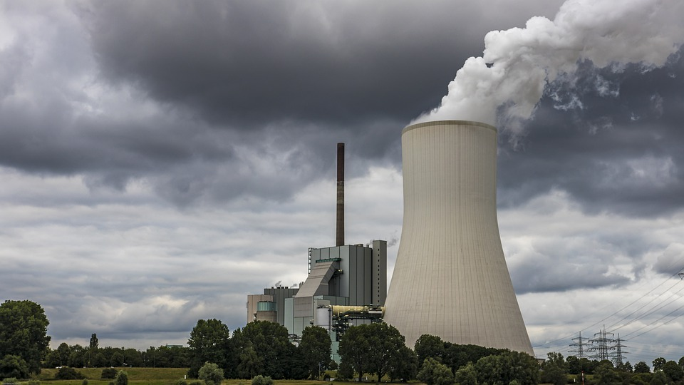 Power Plant, Cooling Tower, Industry, Energy