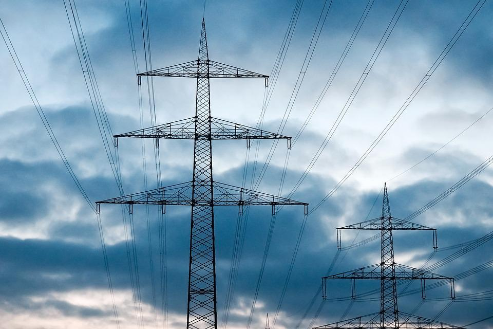 Current, Power Line, Energy, Electricity, Power Supply