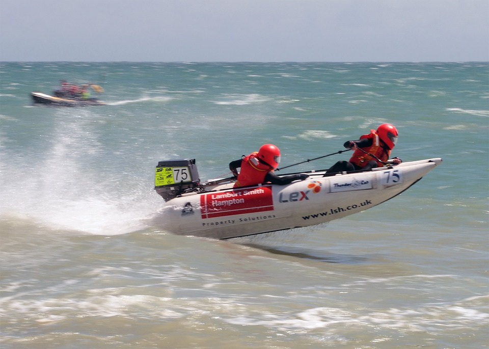 Speedboat, Boot, Racing Boat, Powerboat, Boating, Sea