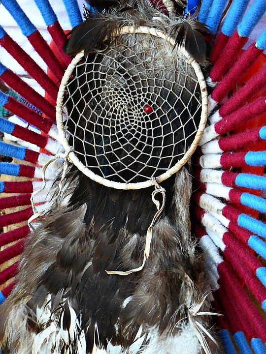 Dreamcatcher, Feather, Plume, Powwow, Indian, Native