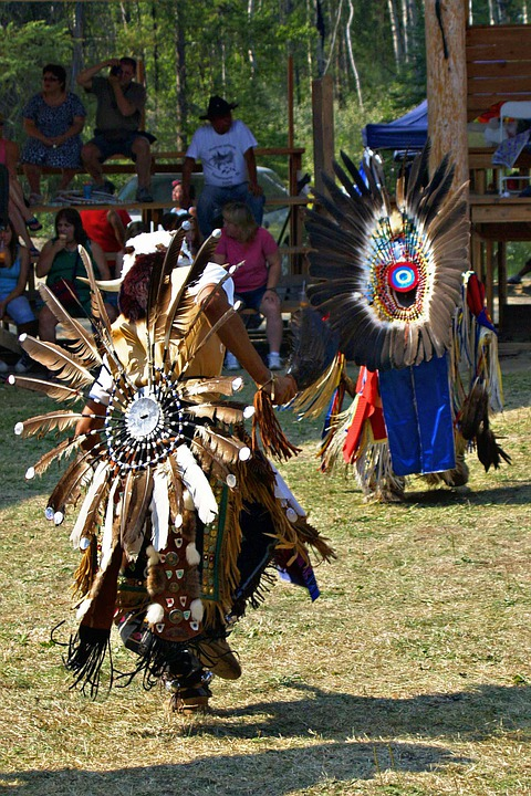 Powwow, Native, Dancer, Feathered, Tradition, Canada